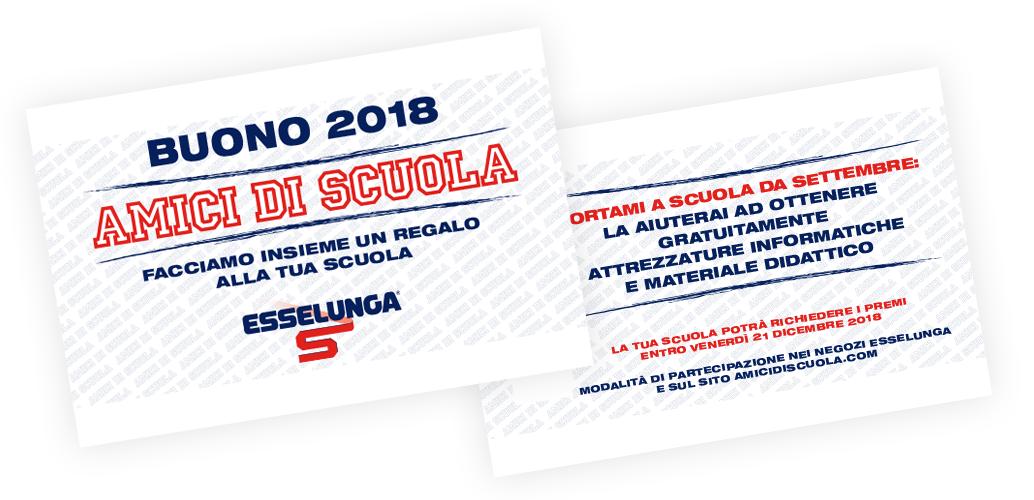 Immagine: Amici di Scuola 2018 - ESSELUNGA.